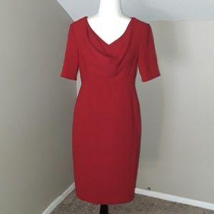 Anne Klein Scoop Neck Dress